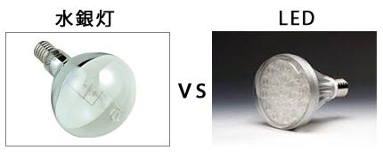 水銀灯 VS LED