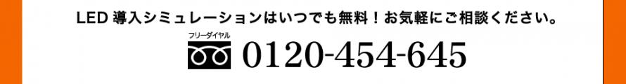 お問い合わせ0120-454-645
